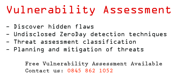 Security Vulnerability Assessment