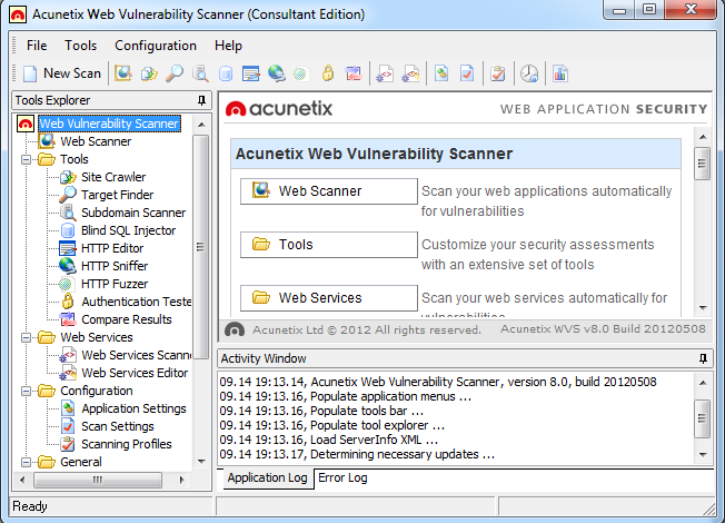 Acunetix Web Vulnerability Scanner - Penetration Testing Tool