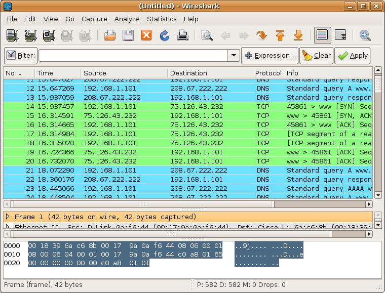 Wireshark Network Traffic Analyser