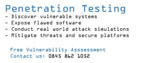 Penetration Testing UK
