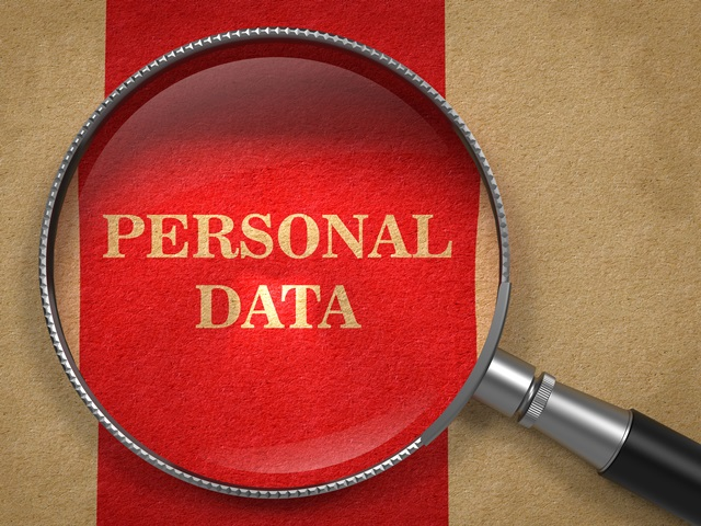 Personal data under the spotlight